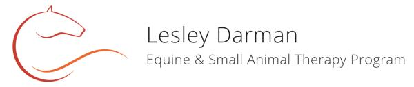 Lesley Darman Equine & Small Animal Therapy Program